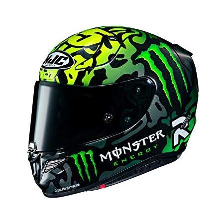 Hjc F70 Mago Mc4hsf Motorcycle Helmet Black Yellow M Auto