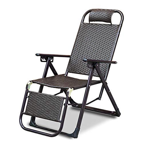 WMQ Silla reclinable Zero Gravity para Exteriores con portavasos, Tumbona Ajustable Extra Ancha para Patio, jardín, Piscina, Playa, con Cojines de Apoyo 200 kg