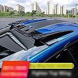 HCJGZ Tailpoiler Adecuado para Ford Mustang 2015-2020, Spoiler Techo Spoiler Spoiler Techo Spoiler Wings Spoiler Spoiler, Techo Trasero Alas de alerón de Labios Adecuado para Mustang,