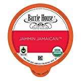 Barrie House Single Cup Capsules for K-Cup Brewer, Jammin Jamaican, 80 Count