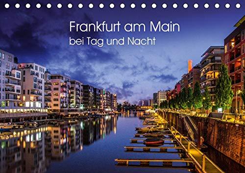 Frankfurt am Main bei Tag und Nacht (Tischkalender 2020 DIN A5 quer): Wunderbares Frankfurt (Monatskalender, 14 Seiten ) (CALVENDO Orte)
