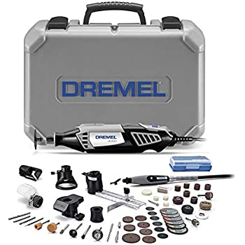 Dremel 4000-6/50 High Performance Rotary Tool Kit with Flex Shaft- 6 Attachments & 50 Accessories- Grinder, Mini Sander, Polisher, Engraver- Perfect For Routing, Cutting, Wood Carving