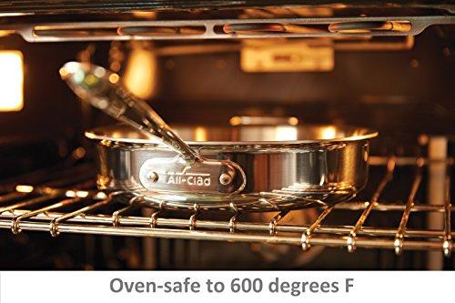 Batterie de Cuisine 5 Pièces All-Clad en Acier Inoxydable - Modèle 401599 - 6