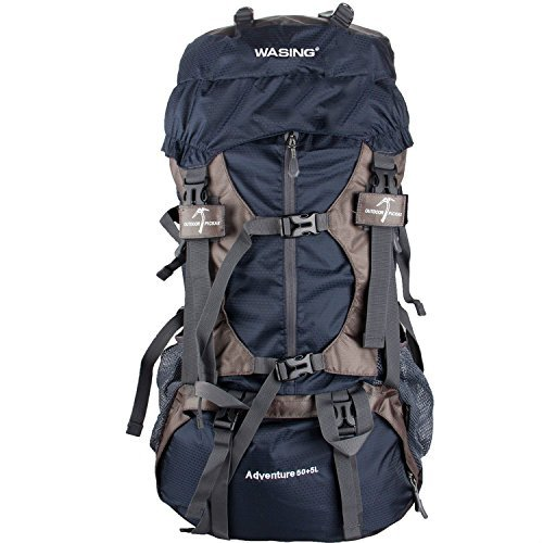 Our #5 Pick is the WASING 55L Internal Frame Backpack