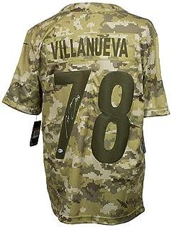 Alejandro Villanueva Autographed Signed Memorabilia Steelers Salute To Service Nike Jersey Bas - Certified Authentic