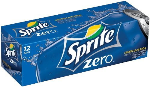 Sprite Zero Soda, 7.5-oz. Can (Pack of 24)