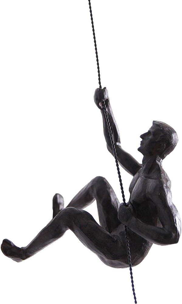 Olpchee Nordic Modern Simplicity Resin Sculpture Creative Climbi
