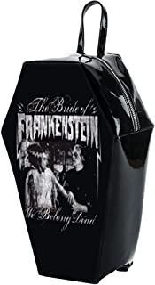 We Belong Dead Coffin Backpack Backpack Black