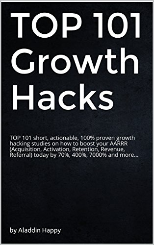 TOP 101 Growth Hacks: The best growth hacking ideas that you can put into practice right away (English Edition)