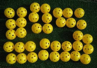 A99 36pcs Golf Air Flow Golf Balls White or Yellow