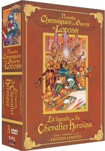 Chroniques de la Guerre de Lodoss: La Légende du Chevalier Heroïque-Coffret 2/2 [Édition Limitée]