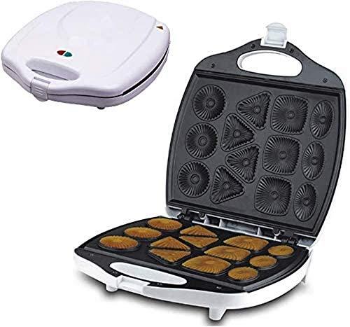 ZXYY Gâteau Donuts Maker Gaufrier Multi Fonctionnel Snack Maker Plaques antiadhésives Poignée Tactile pour Beignets Gâteaux gaufres en Forme de Coeur