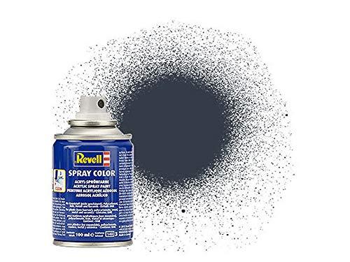 Revell Revell_34178 34178 Spraydose panzergrau, matt Spray Color, Farben in der praktischen 100-ml-Sprühdose
