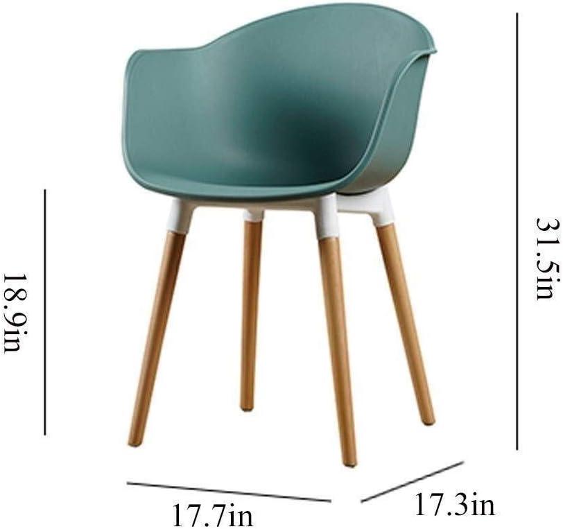 WJJ Fauteuil Relax Salle à Manger Chaise Design Chaise Chaise de Loisirs de la Maison de la Mode créative Fauteuil Relax Jardin (Color : A) F