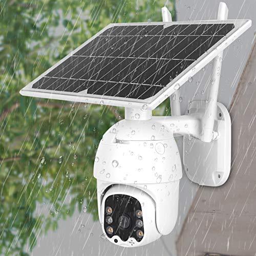 Cámara Solar de la cámara de la cámara de Seguridad 1080P HD WiFi PTZ, para los Patios de Las Villas de los estanques de Peces de Las comunidades