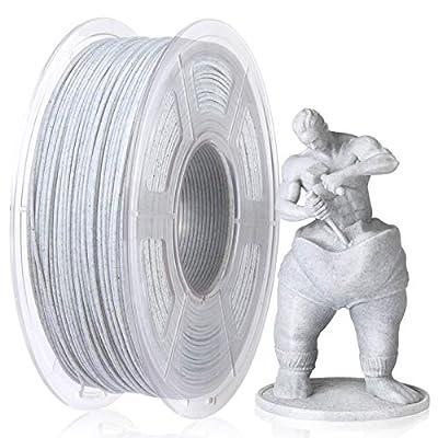 SUNLU PLA 3D Printer Filament, Dimensional Accuracy +/- 0.02 mm,1.75 mm