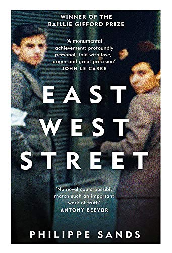 East West Street: Non-fiction Book of the Year 2017