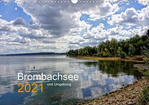 Brombachsee und Umgebung (Wandkalender 2021 DIN A3 quer)