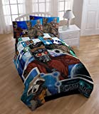 Marvel Guardians of the Galaxy Microfiber Comforter- Twin