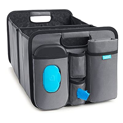 Munchkin Brica Out-N-About Collapsible Trunk Organizer & Diaper Changing Station by Munchkin