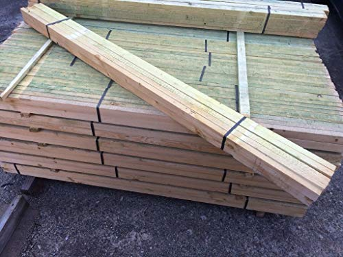10 Dachlatten 2 Meter lang 3x5cm Lattung Bauholz Kantholz Latten
