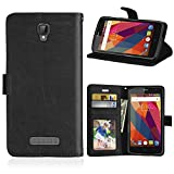 DIKAS for ZTE Blade L5 Plus Case, Flip Case Flexible PU