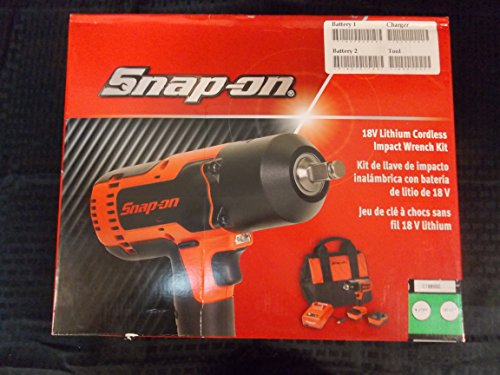 Snap-On 18V 1/2' Drive Green MonsterLithium Impact Wrench Kit, Part #CT8850G