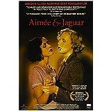 Aimee & Jaguar (1999) Love/Same Sex Lesbian Movie Poster Impresión en lienzo Pintura Arte de la pared para la decoración del dormitorio de la sala de estar-50x75cm Sin marco