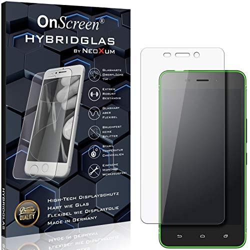 OnScreen Schutzfolie Panzerglas kompatibel mit Hisense C30 Lite Panzer-Glas-Folie = biegsames HYBRIDGLAS, Bildschirmschutzfolie, splitterfrei, MATT, Anti-Reflex - entspiegelnd