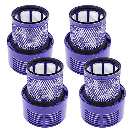 Set di 4 filtri lavabili per aspirapolvere Dyson V10 serie Cyclone, per Dyson V10. SV12 Cyclone Animal Absolute Total, ricambio #DY-969082-01