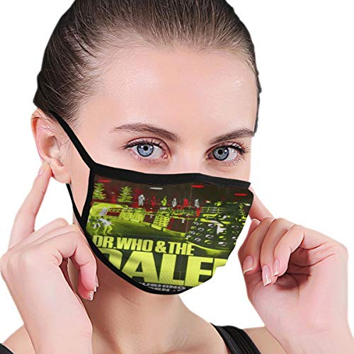 Danielleicholson Unisex Sturmhaube Scarf Cap Beanie Stirnband Thermal Multifunktionale Kopfbedeckung Dr. Who The Daleks Gesichtsmaske Bandana