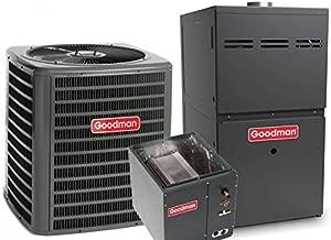 3 Ton Goodman 14 SEER R410A 96% AFUE 80,000 BTU Upflow Gas Furnace Split System (Yes, please add one to my order)