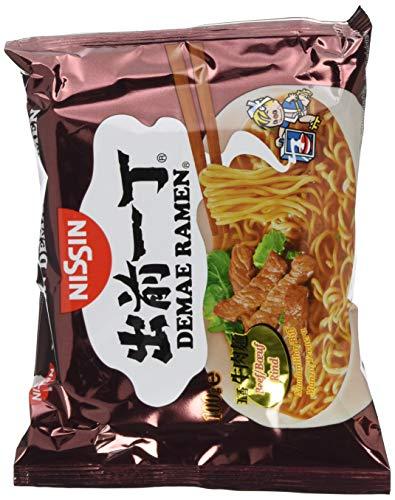 Nissin Instant Nudeln Demae Rind 100g, 30er Pack (30 x 100 g)