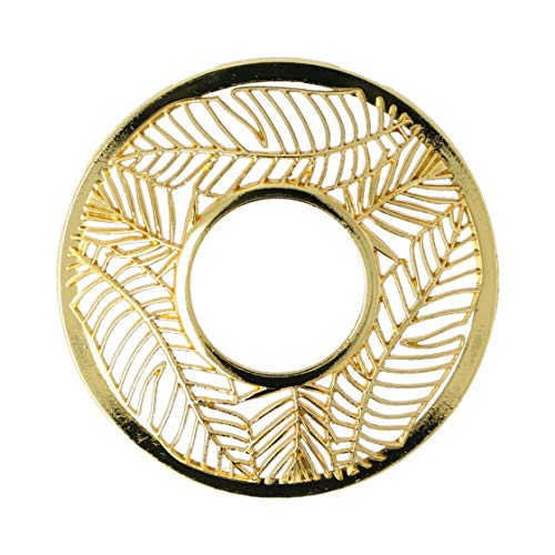 Yankee Candle Illuma-Lid, Metall, Gold, 8,5cm