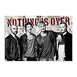 Leinwand-Poster, Rockband Sunrise Avenue, für