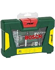 Bosch -delige V-Line titanium set voor boren en schroeven.