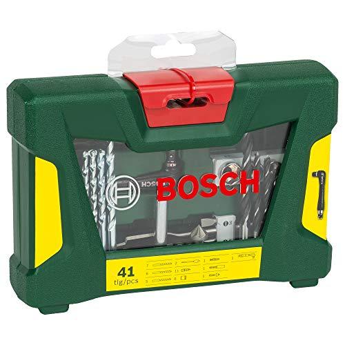 Bosch 41tlg. V-Line Bohrer- und Bit-Set mit Winkelschrauber