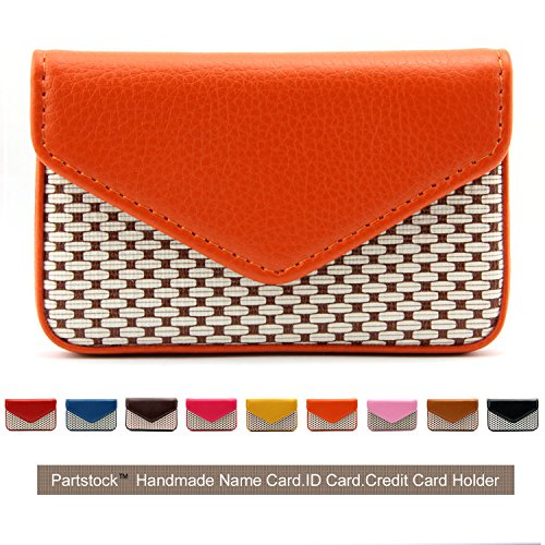 Partstock Multipurpose PU Leather Business Name Card Holder Wallet Leather Credit card ID Case /...
