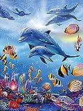 ZMGYA 1000 Puzzle piezasThe Underwater world-500Edad Recomendada 12+Destrezas Motrices Finas y Aprendizaje de la Concentración