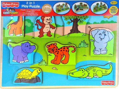 Fisher Price 2 in 1 Puzzle Game for Kids