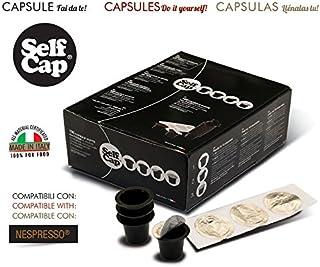 200Cápsulas Nespresso activas selfcap (No el café Industrial.. Cafetera Eléctrica el comperi y el Du tu..)