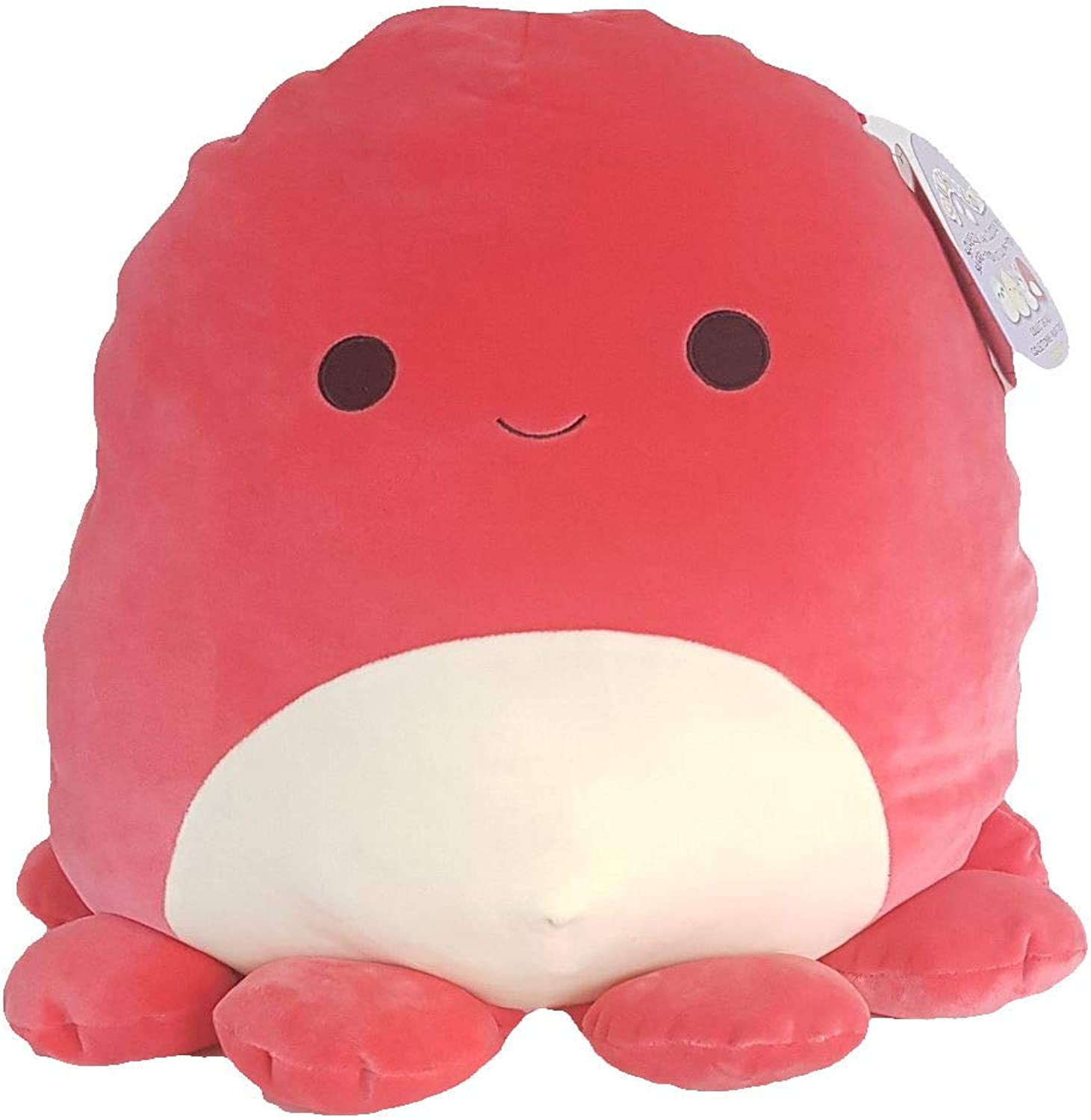 Squishmallows Veronica The Octopus 16  Plush Red