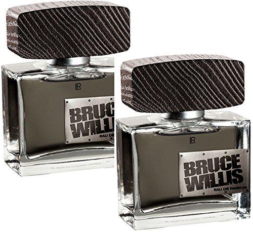 LR Bruce Willis Eau de Parfum für Männer (2x 50 ml)