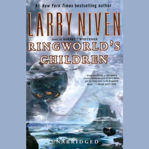 Ringworld's Children audiobook cover art