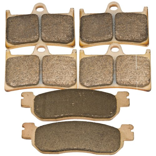 Front and Rear Sintered Brake Pads for Yamaha YZF 600 RRL RRM RRN RRP R6 1999 2000 2001 2002