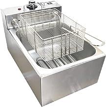 Fritadeira Elétrica 1 Cuba Plus Aço Inox 06L 110v 2000W