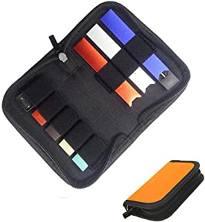 Gooder Carrying Case Wallet Holder for JUUL and Other Popular Vapes Holds Vape, Pods and Charger Fits in Pockets or Bags (...