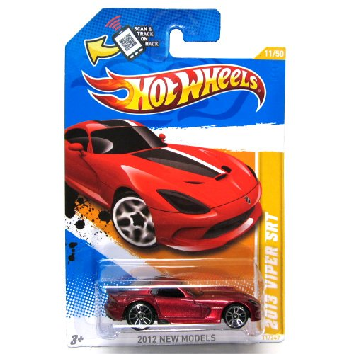 2013Viper SRT Hot Wheels 2012New Models Series 1: 64Scale Collectible Die Cast denn # 11