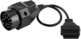 Kabelstecker, Runddiagnose OBD2 Adapter Scanner Kabelstecker OBD II Adapter   20 Pin auf 16 Pin