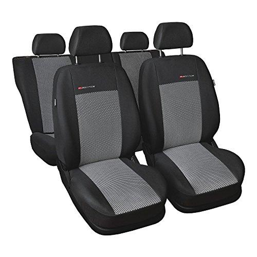 Auto-Dekor 5907806259609 Lupo / Seat sa 97-05 Maßgefertigte Sitzbezüge, schwarz